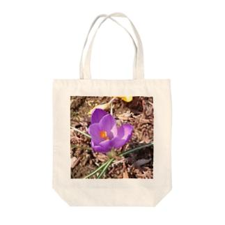 花)くろっ≡┏( ^o^)┓カサカサカサ Tote bags