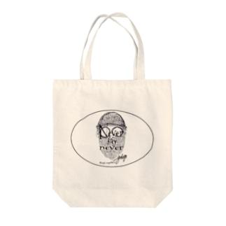 髭と帽子と眼鏡(never say never  ver) Tote bags