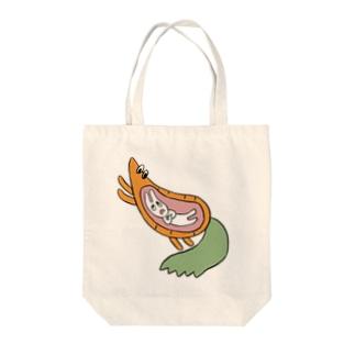 弱肉強食 Tote bags