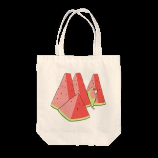インコグッズ屋のスイカとコザクラインコ Tote bags