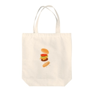 ハンバーガー君 Tote bags