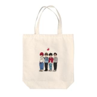 笑顔の発電所 Tote bags