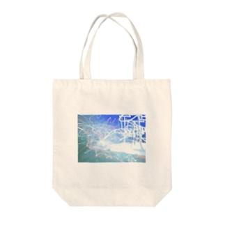 ヘイセイバルヴ Tote bags