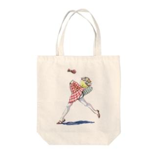 透明な女の子 Tote bags