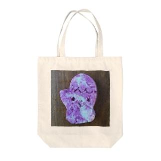 ミトンちゃん紫いもクッキー Tote bags
