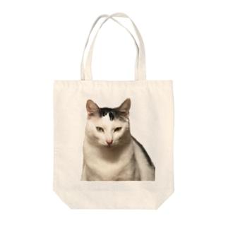 リアルまめふく Tote bags