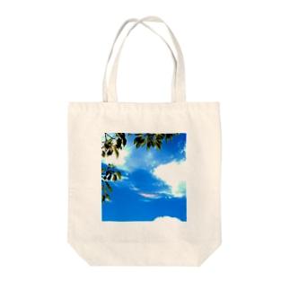 彩雲 Tote bags