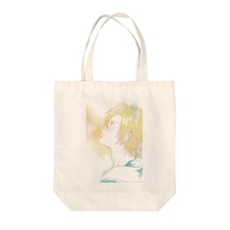 アッシュ Tote bags