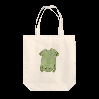 くおのまるめたぴおかがえる Tote bags