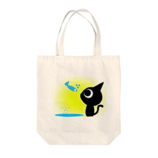魚の夢〜ネコトビツクリトボク〜 トートバッグ