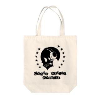 ヘッドフォンドクロ Tote bags