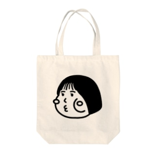 cheeky cheeky 厚かましい女の子 (透けバングver.) Tote bags