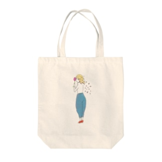 3月 Tote bags
