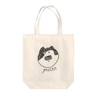 猫のぽっきゃん Tote bags