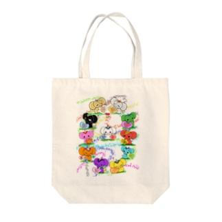 がなぱてぃ.12曼荼羅 Tote bags