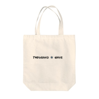 Thousand☆waveロゴトートバック Tote bags