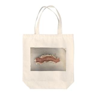 ホルモン Tote bags