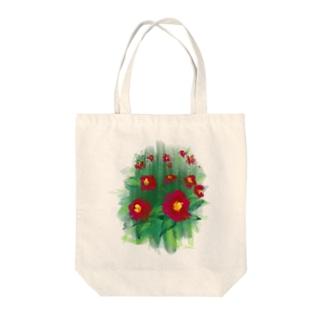 つばき Tote bags