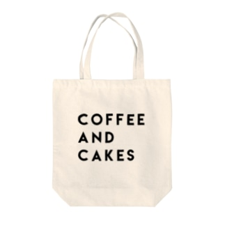 coffee and cakes Tote bags