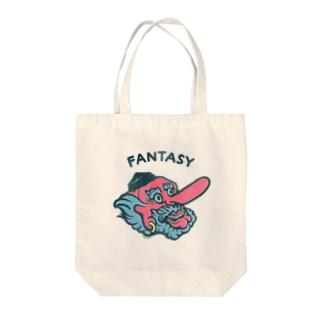 FANTASY–天狗 Tote bags