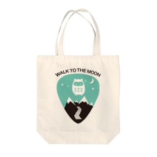 WALK TO THE MOON  Tote bags