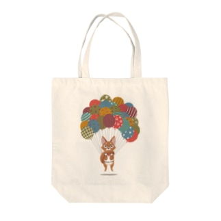 Balloon Dog Tote bags