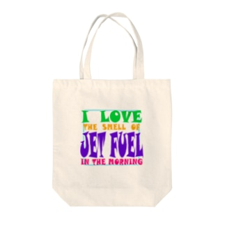 JET FUEL(POP) Tote bags