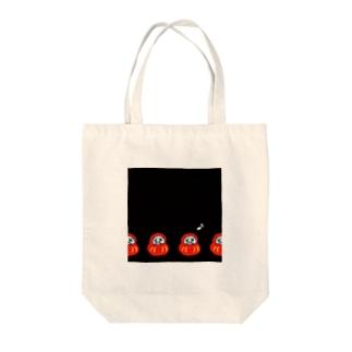 ハナウタるま Tote bags