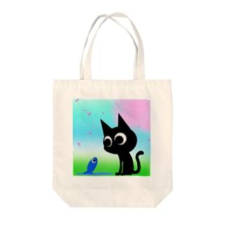 魚の夢CH〜サクラフワァァァア〜 Tote bags