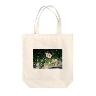 さかさま立葵 Tote bags