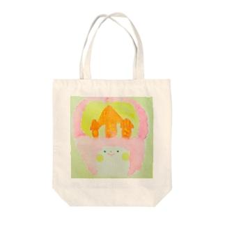 home sweet home Tote bags