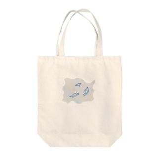 ゆらめく生物 Tote bags