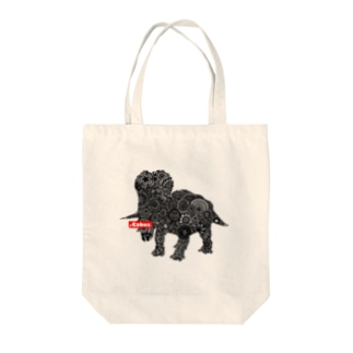 .Cakes トリケラトプストートバッグ Tote bags
