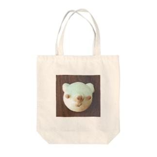 くまちゃんクリームパン Tote bags