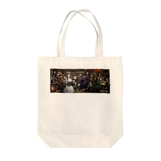 酒場と看板娘 Tote bags