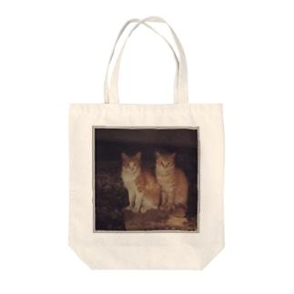 猫のiPhoneケース Tote bags