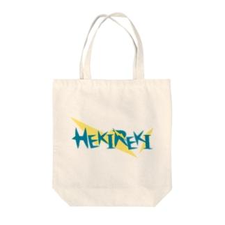 HEKIREKI Tote bags