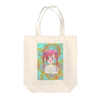 星座シリーズ★かに座 Tote bags