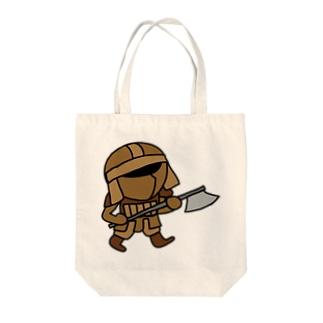 冒険者 Tote bags