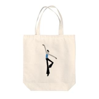 ジャズダンサー Tote bags