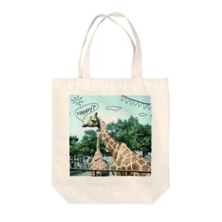 キリンのスローデイズ Tote bags