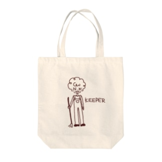 飼育員さん Tote bags