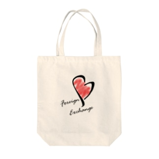 foreign exchange Tote bags