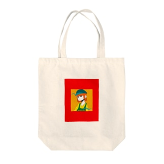 short  hair Tote bags
