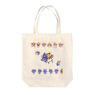 天使ちゃんと悪魔ちゃん Tote bags