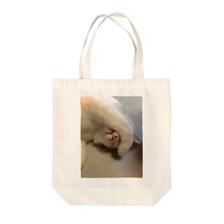 てんちゃん(前足) Tote bags