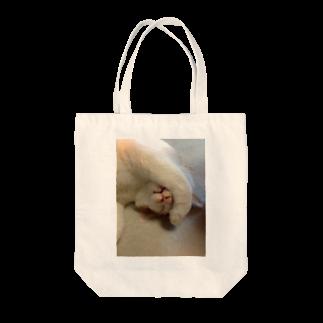 高橋賢司のてんちゃん(前足) Tote bags