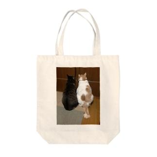 てんちゃん&じんちゃん Tote bags