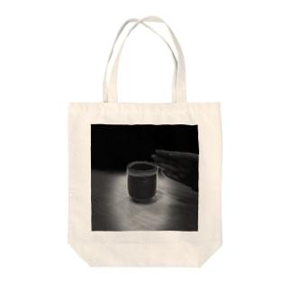 神々しい湯呑み Tote bags