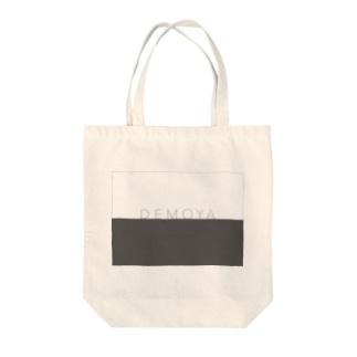 DEMOYAグレーロゴ Tote bags